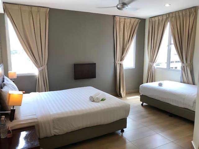 Tune Hotel Georgetown, Penang - Triple Room