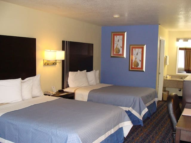 Days Inn Hotel Room- Two Queen Beds