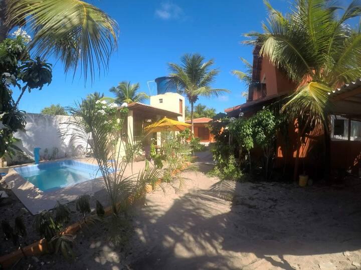 Pipa Kite camp - casa 2 quartos