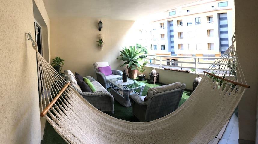 great peaceful 2 bedroom apartment heart moraira
