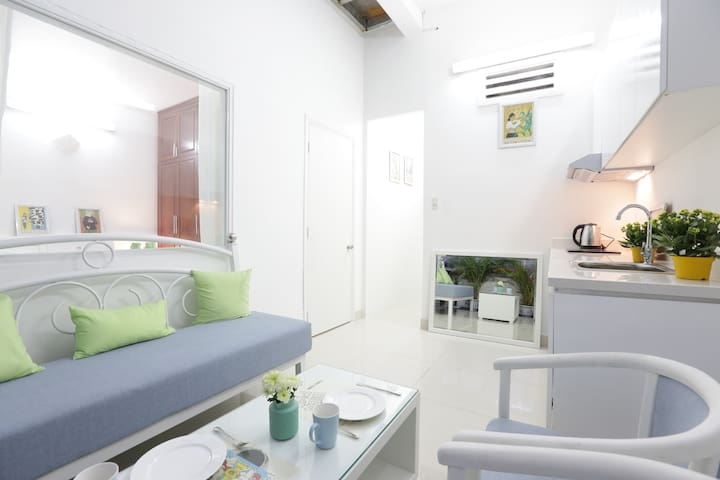 New!Apt & Garden Near Central HCMC - Ho Chi Minh - Apartament
