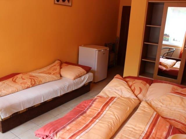 Room 2 1 double sofa bed and a sofa for 3 people. O.W. NA WIEJSKIEJ