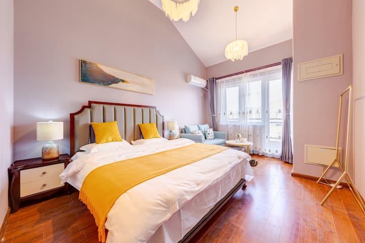 司马台长城全景观大床房