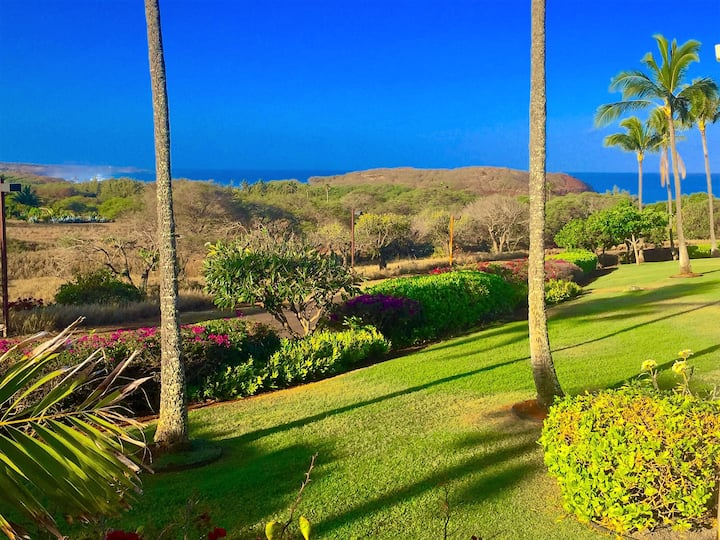 MOLOKAI, TROPICAL  OCEAN VIEW CONDO, NOT on Maui !