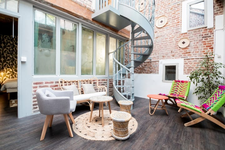 Villa - Atypic loft in Vieux-Lille district