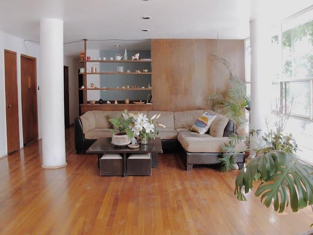 Fresh & cozy room in Condesa !
