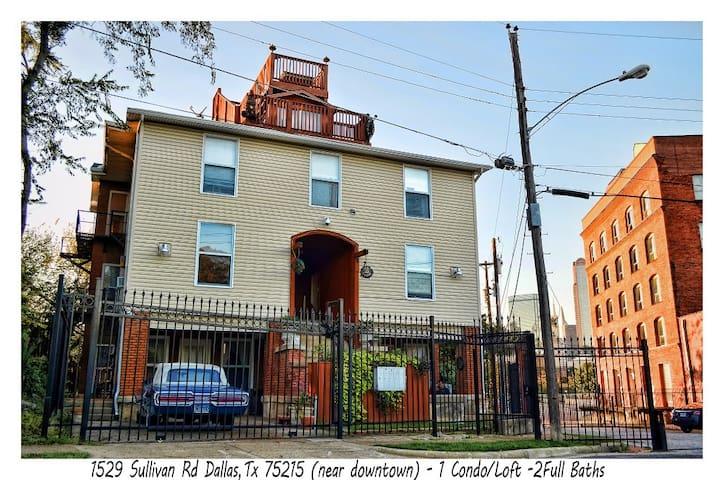 Downtown Dallas Condo/Loft/Apt - Dallas - Wohnung