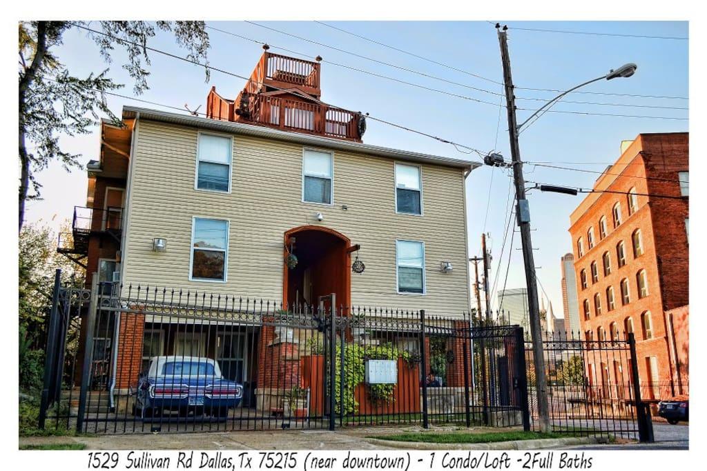 Downtown Dallas Condo Loft Apt Condominiums For Rent In Dallas Texas Unit