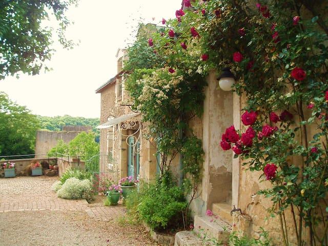 maison de charme, village classé - Angles-sur-l'Anglin - Huis