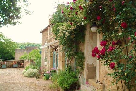 maison de charme, village classé - Angles-sur-l'Anglin - Дом