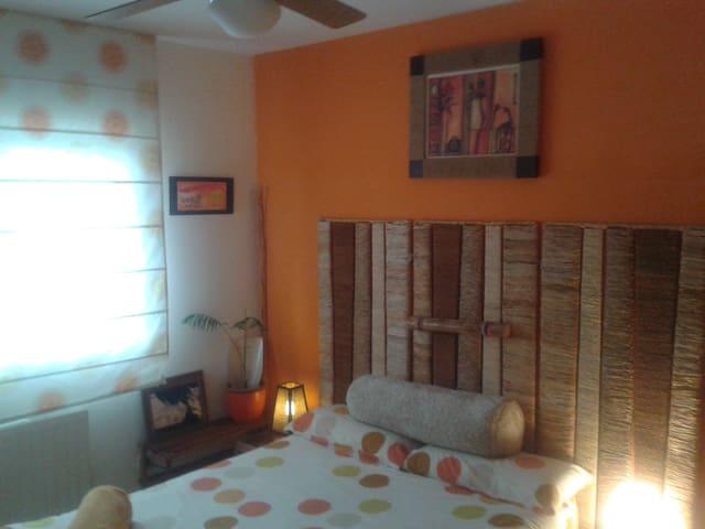 habitacion cama doble viscolástica-BAÑO PRIVADO - Rivas-Vaciamadrid - Casa adossada