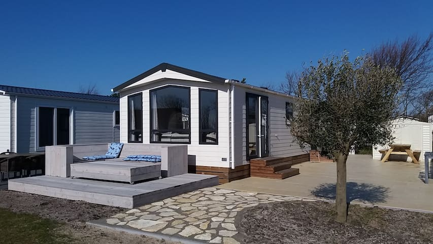 5. Beachhouse, 1km Sea, Camping, Swim.pool, Nature - Petten - Chalet