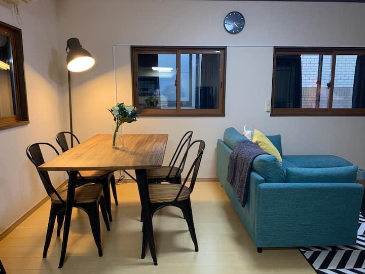 Big house with garage/ Free Wi-Fi/ 9min to Asakusa