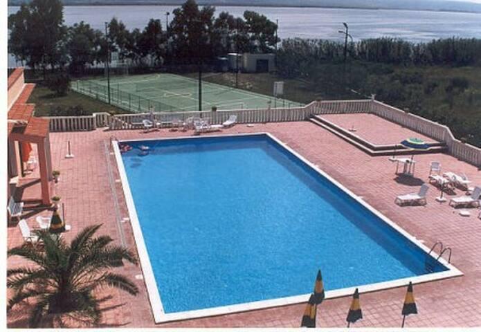 piscina a disposizione degli ospiti