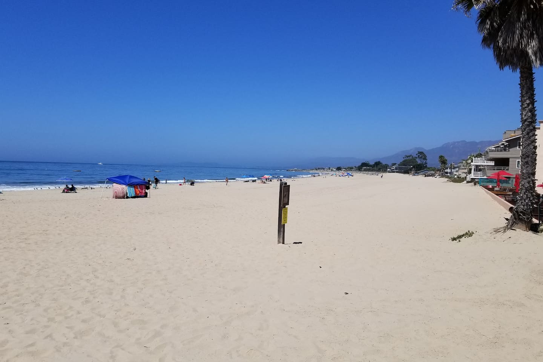 Easy walking distance to endless beaches!