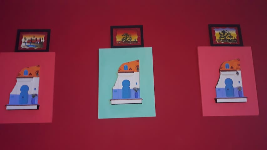 Casa blue .budget single private room