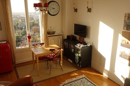 Cosy nice Apartment,  5 min. from Paris. Metro 9. - Montreuil - Wohnung