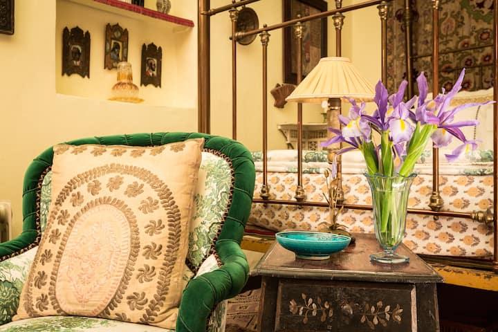 Chambre de luxe au coeur de la Kasbah: Aloe Vera