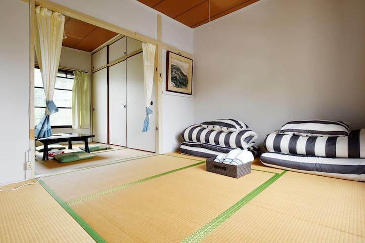 Japanese style room--near USJ Kaiyukan - Minato-ku, Ōsaka-shi - Flat