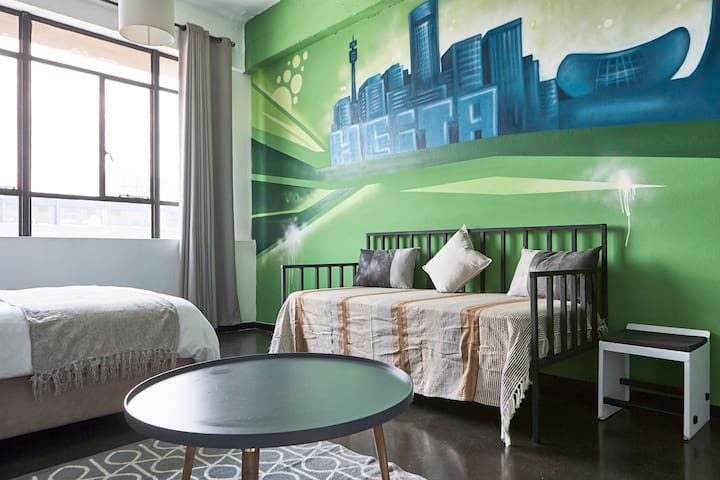 Heita! Cool Jozi Urban Vibe in Maboneng Precinct - Flats for Rent ...
