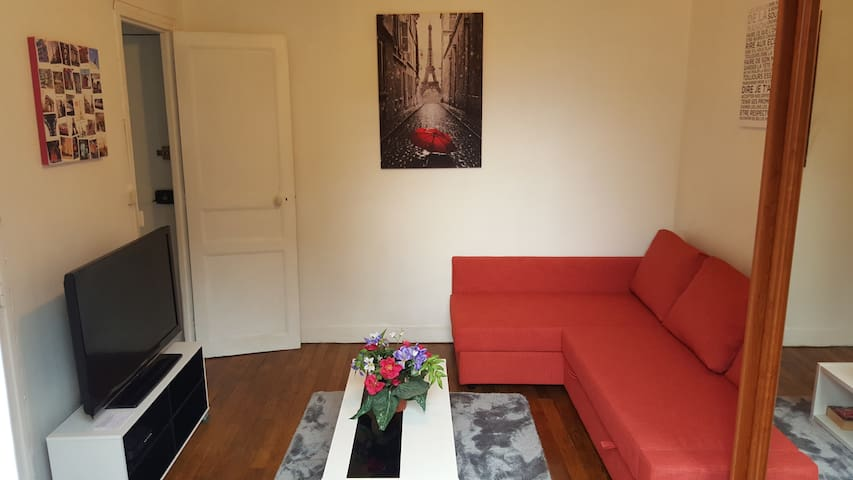Studio full equipped with balcony and WIFI - Boulogne-Billancourt