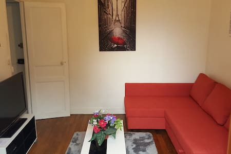 Studio full equipped with balcony and WIFI - Boulogne-Billancourt - Apartment