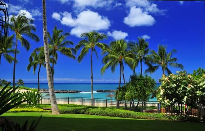 **Ko Olina Beach Villa Frontal Oceanview 2 bd/2 ba