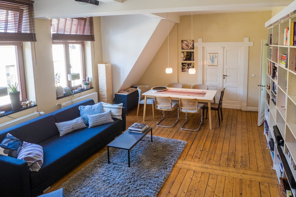 2 level flat with xxl roof terrace appartements louer for Cuisine xxl allemagne