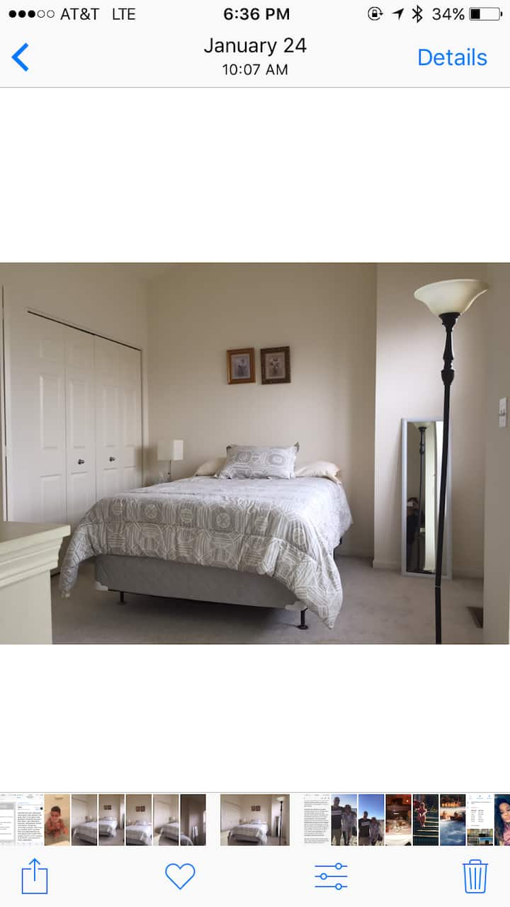 Spacious and large bedroom  near the U of C