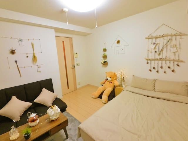 Near Shinjuku&Waseda 4ppl stay bb02