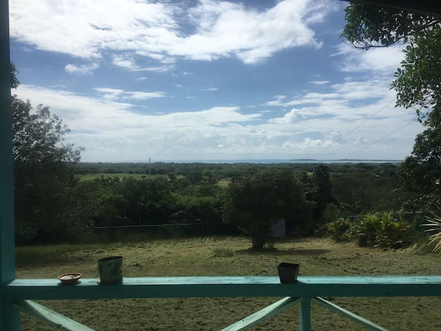 Panoramic view hill cabin, Combate - Cabo Rojo - Cabane