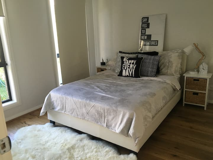Bedroom at a brand new house