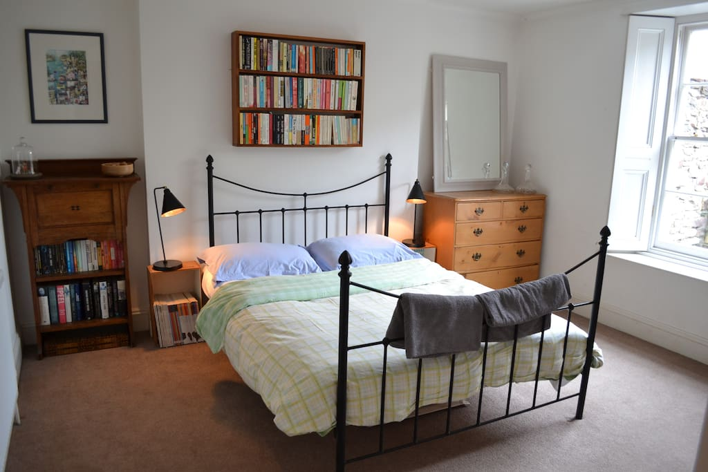 The light and spacious double bedroom