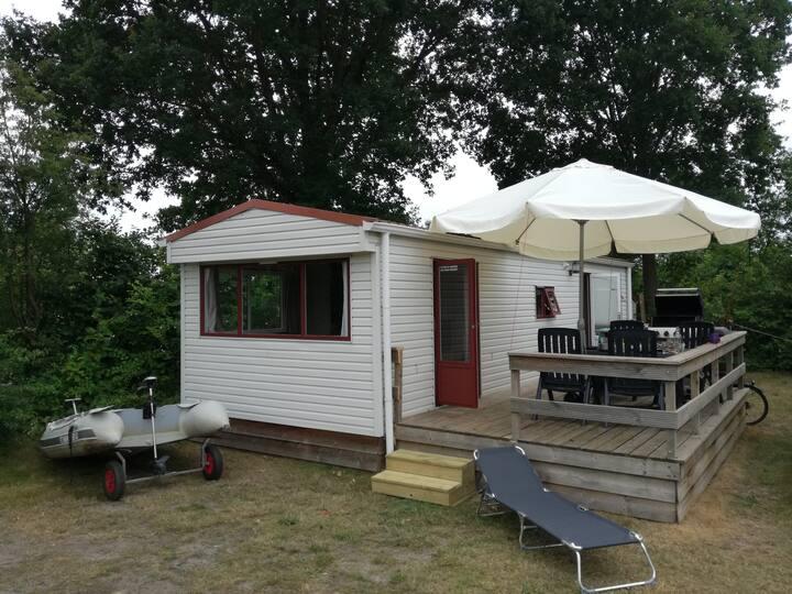 Heerlijke 5-pers 3 kamer Stacaravan op 5*Camping