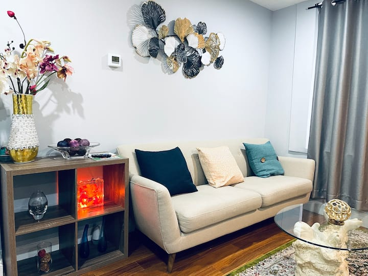Modern cozy beautiful & clean Apt in Center City
