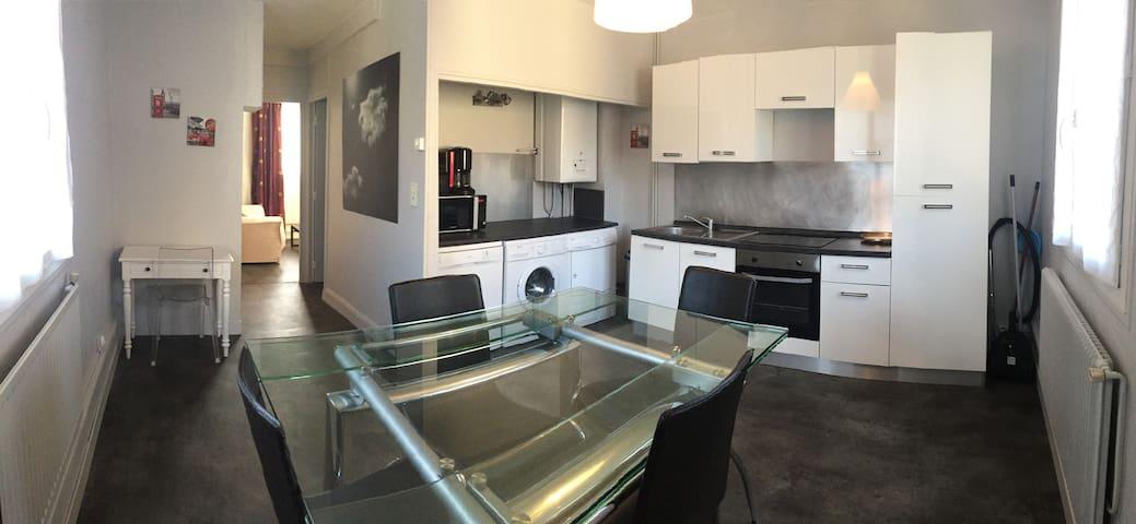 Appartement meublé proche plage et centre ville - Saint-Valery-en-Caux - Apartamento