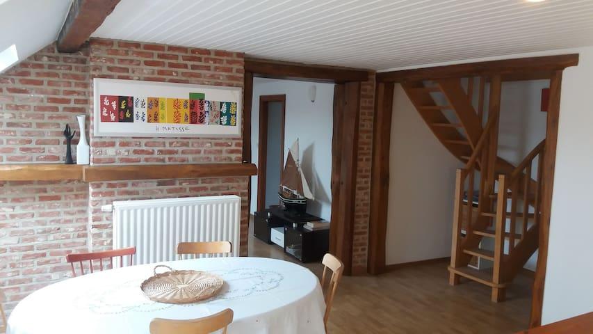 Aptmt entre ville et campagne - Wezembeek-Oppem - Apartment