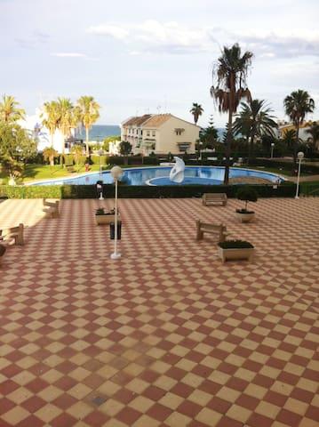 Apartamento primera linea de playa - El Puig de Santa Maria - Apartment