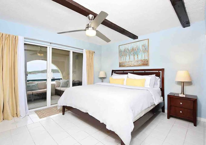 Ocean Bedroom- Hop out of bed and walk right onto your private balcony