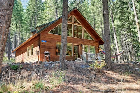 ★ Peaceful Forest Cabin ★ near Mazama/Winthrop