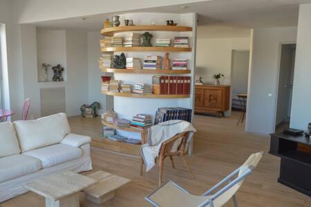 Grand loft vue Vieux Port à 180° - Marseille - Apartment