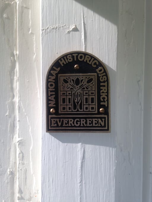 The neighborhood is protected by it's historic status.