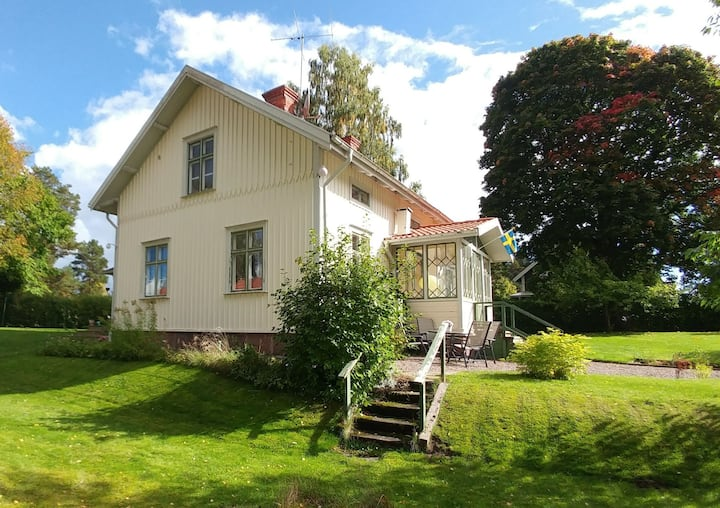 Family friendly house with lovely garden.
