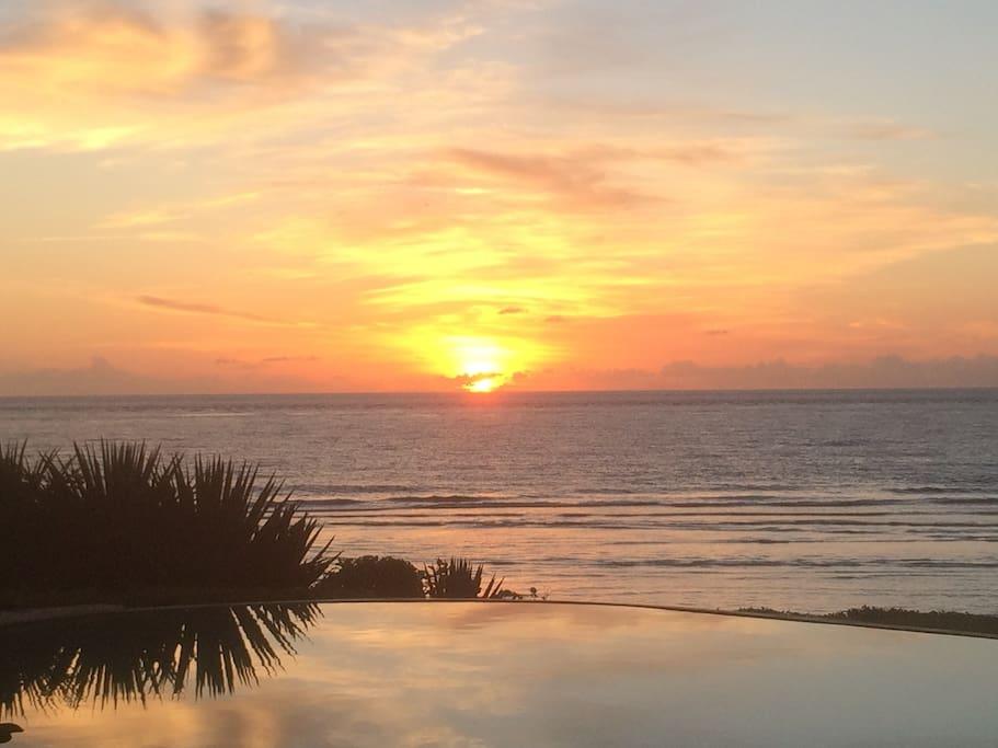 Sunrise over Indian Ocean