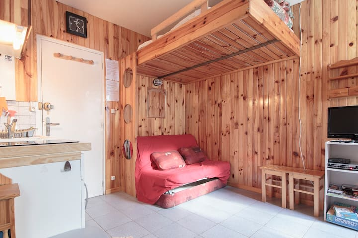 Apartment in the mountains - Ustou - Apartamento
