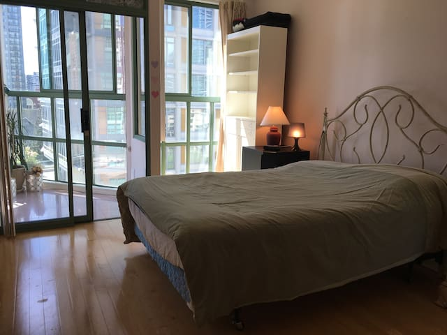 Private Bedroom & Private Bathroom Plus a solarium