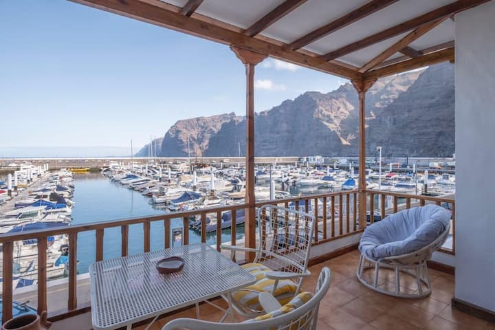 Los Gigantes, Front Line, Cute 2bedrooms Free WiFi