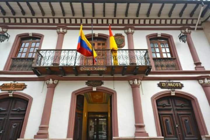 Casa Ordonez, Cuenca, Ecuador