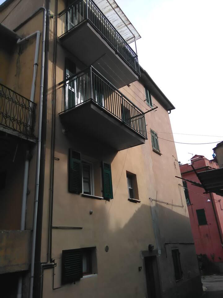 Appartamento ligure su 3 livelli - 5Terre
