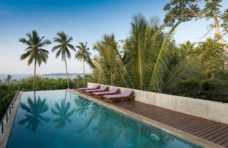Award Wining Beach Front Villa in Sri Lanka - The Kadju House